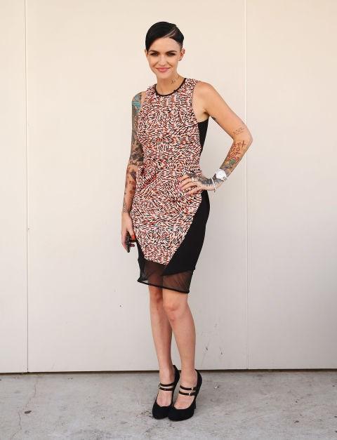 APRIL 7, 2014 At Mercedes-Benz Fashion Week Australia.