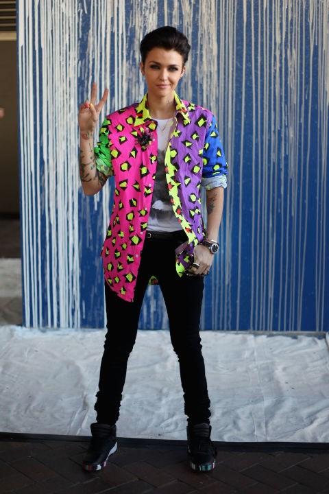 MAY 1, 2012 At Mercedes-Benz Fashion Week Australia. GETTY / CAROLINE MCCREDIE