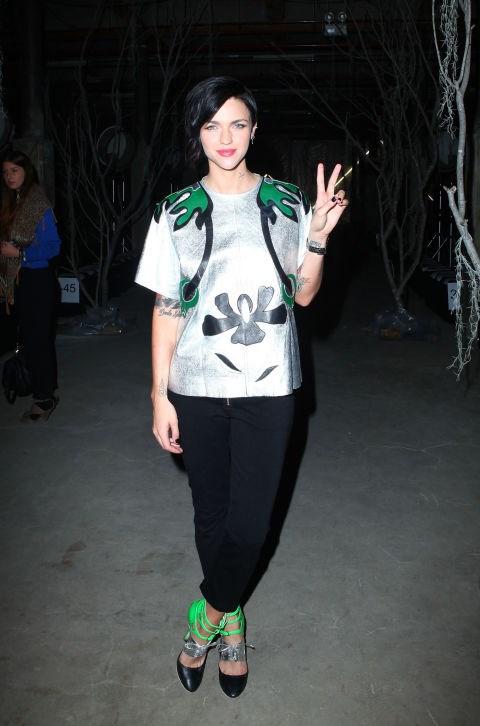 MAY 3, 2011 At Rosemount Australian Fashion Week.