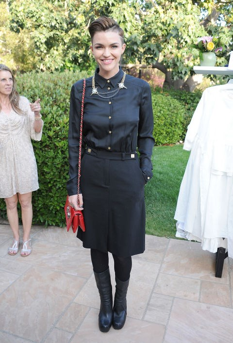 MAY 6, 2014 At the 'Wine, Women & Shoes Event Benefiting The Children's Action Network.' GETTY / ANGELA WEISS