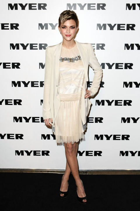 AUGUST 5, 2010 At the Myer Collection Launch.