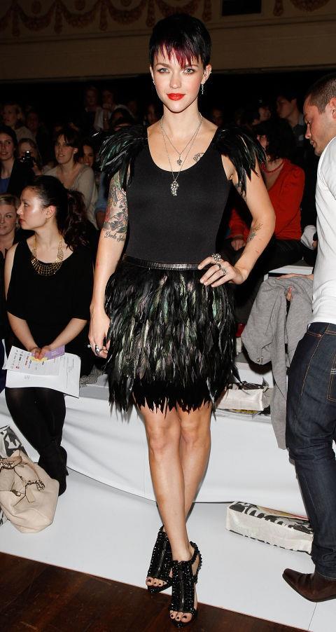 SEPTEMBER 3, 2010 At Melbourne Spring Fashion Week. GETTY / MATT JELONEK