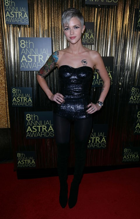 JUNE 24, 2010 At the 8th Annual ASTRA Awards. GETTY / DON ARNOLD
