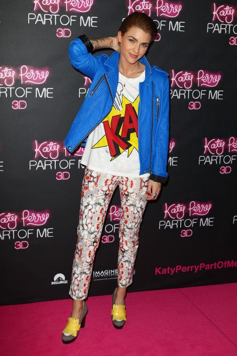 JUNE 30, 2012 Attending the Australian Premiere of Katy Perry: Part Of Me.