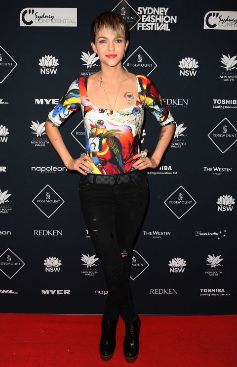 AUGUST 28, 2010 At Rosemount Sydney Fashion Festival. GETTY / MARK METCALFE
