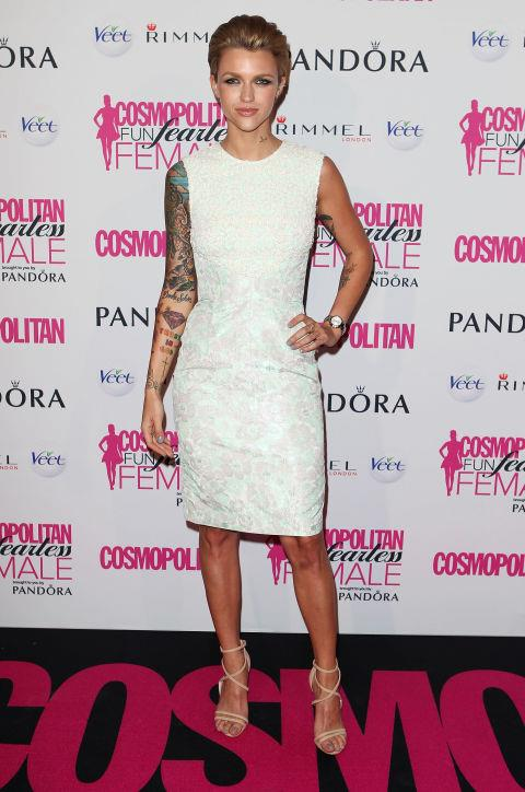 SEPTEMBER 26, 2012 At the Fun Fearless Female Awards.
