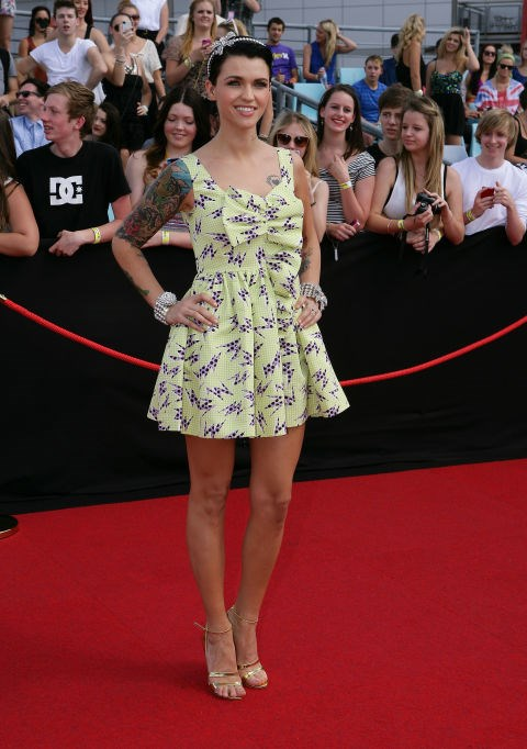 NOVEMBER 27, 2011 At the ARIA Awards.