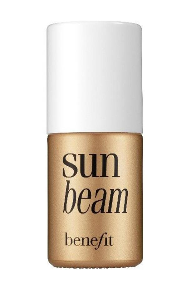 """<strong>Olive complexions </strong> <br> <br> <a href=""""http://www.myer.com.au/shop/mystore/benefit-sunbeam"""">Sunbeam, $55, Benefit</a>"""