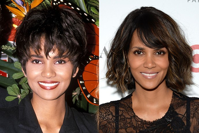 """<strong>HALLE BERRY</strong> <br><br>Age: 48 <br><br>Is it just us, or does Halle Berry have a case of the Benjamin Buttons? Fortunately, the actress is open about her regime. Er secret? To seek professional help rather than spend your hard-earned cash on products you might not need. """"Women in their twenties are turning to anti-aging products too soon instead of getting help from aestheticians,"""" she said in a recent interview with <em><a href=""""http://go.redirectingat.com/?id=74968X1525074&site=elle.com&xs=1&isjs=1&url=http%3A%2F%2Fwww.marieclaire.co.uk%2Fblogs%2Fjessica-lacey%2F544579%2Fhalle-berry-6-life-rules-that-keep-her-young.html&xguid=a106155dc9680f05336158d48daf64b5&xuuid=9e73aeb32e81717e44ef17eb9bf1ee22&xsessid=f0f37357a07cc3393833a80acbcb0b09&xcreo=0&xed=0&sref=http%3A%2F%2Fwww.elle.com%2Fbeauty%2Fg26467%2Fcelebrity-anti-aging-secrets%2F%3Fslide%3D5&xtz=-600"""">Marie Clair UK</a></em>, divulging that she visits her facialist at skincare clinic Kinara four times a year. <br><br> """"I haven't had a need yet for technical creams so I keep it very simple and just cleanse, tone, and moisturise."""" <br><br>She also abstains from sugar whenever possible, calling it """"poison."""" As for that insane, still Catwoman-worthy physique, Berry relies on cardio, light weights, and exercises using her own body weight."""
