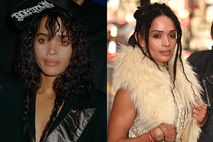 <strong>LISA BONET</strong> <br><br>Age: 47 <br><br>Not every forty-something can say that she and her 26-year-old daughter are doppelgangers, but Bonet and <strong>Zoë Kravitz </strong>are undeniably twins lately. <br><br>What keeps the actress looking so good? We're not totally sure, since she stays pretty quiet about her beauty regime. But perhaps her plant-based diet plays a role—Bonet is vegan.