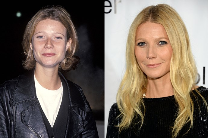 """<strong>Gwyneth Paltrow</strong> <br><br>Age: 42 <br><br>The actress is as outspoken about her beauty and health regime as she is about, well, everything else. A big proponent of eating clean, Paltrow has dabbled in detoxes, a gluten-free diet, and veganism, but most consistently sticks to a rule of eating whole foods and taking supplements (though she famously allows herself a Diet Coke and a cigarette once a week). <br><br>She's also an avid exerciser, and is responsible for popularizing the Tracy Anderson Method. Her makeup and skincare regime, however, is decidedly less complicated: Paltrow has credited exfoliation, coconut oil, and lots of water for her smooth complexion. (But never Botox – she says it made her look """"crazy."""") If you have any other questions, we recommend subscribing to <strong><a href=""""http://goop.com/"""">Goop</a>,</strong> which is usually where Gwynnie shares her secrets."""