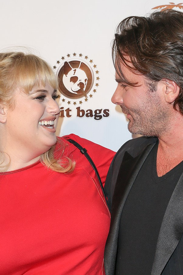 Rebel Wilson and Mickey Gooch