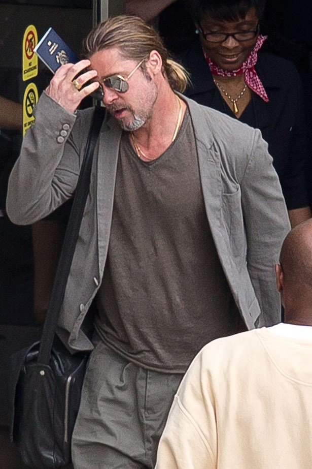Remember when Brad Pitt had a ponytail? Hot, hey.