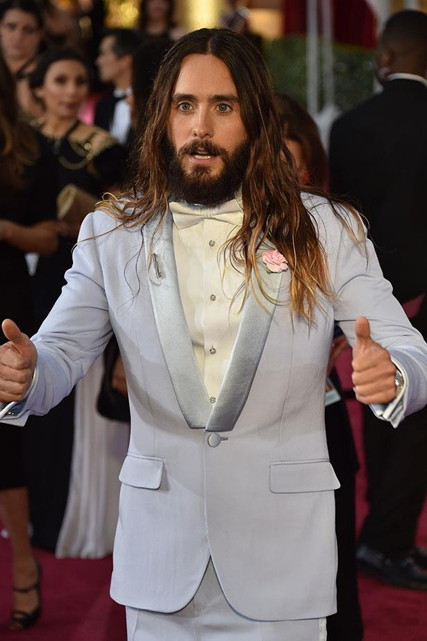 Remember Jared Leto's magnificent ombre mane?