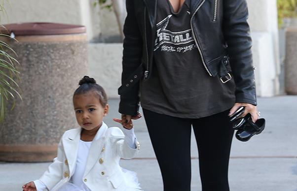 Kim Kardashian on why kids deserve to be stylish, too