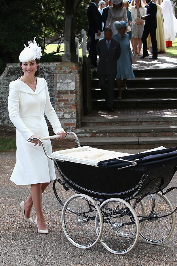 Soooooo chic. Including the pram here.
