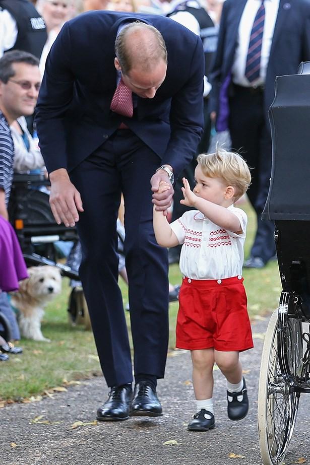 Prince George wins hearts everywhere.