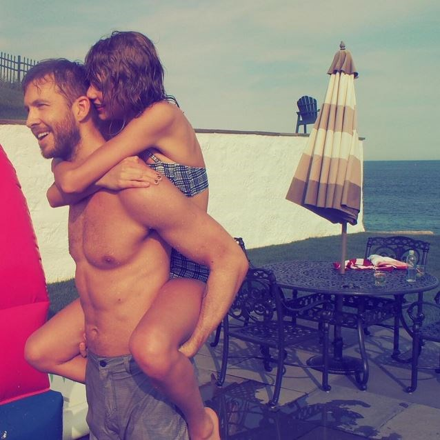 """""""Friendly relations between Scotland and America. @calvinharris"""" - <strong>@taylorswift</strong>"""
