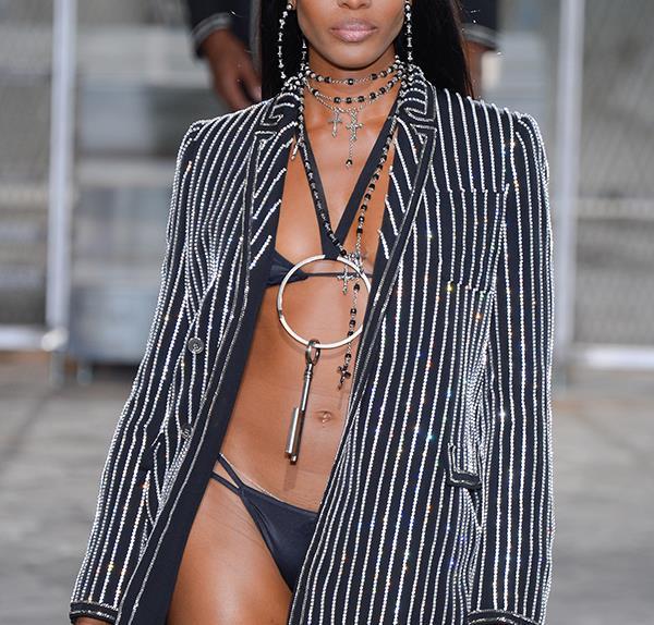 Naomi Campbell Givenchy runway
