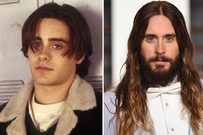 <strong>Jared Leto</strong> Ruined every other boy for us as Jordan Catalano in My So-Called Life, continues to do so with his ombre hair. set to star in Suicide Squad in 2016. Do we have to talk about 30 Seconds to Mars? Let's not.