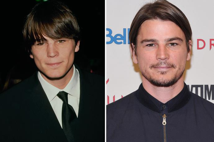 <strong>Josh Hartnett</strong> What a babe Josh Hartnett was in the 90s/early 2000s. We mean, he still is, but like woah. Hartnett currently stars in the TV show Penny Dreadful.