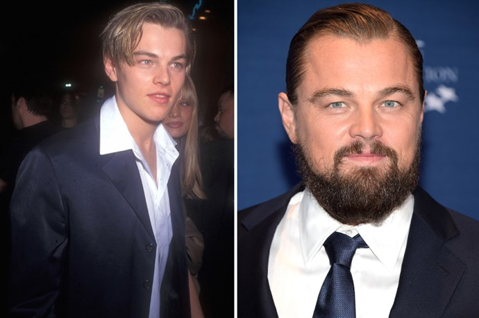 <strong>Leonardo DiCaprio</strong> Controversial, but Leo peaked in hotness circa Titanic and Romeo and Juliet? Let's discuss.