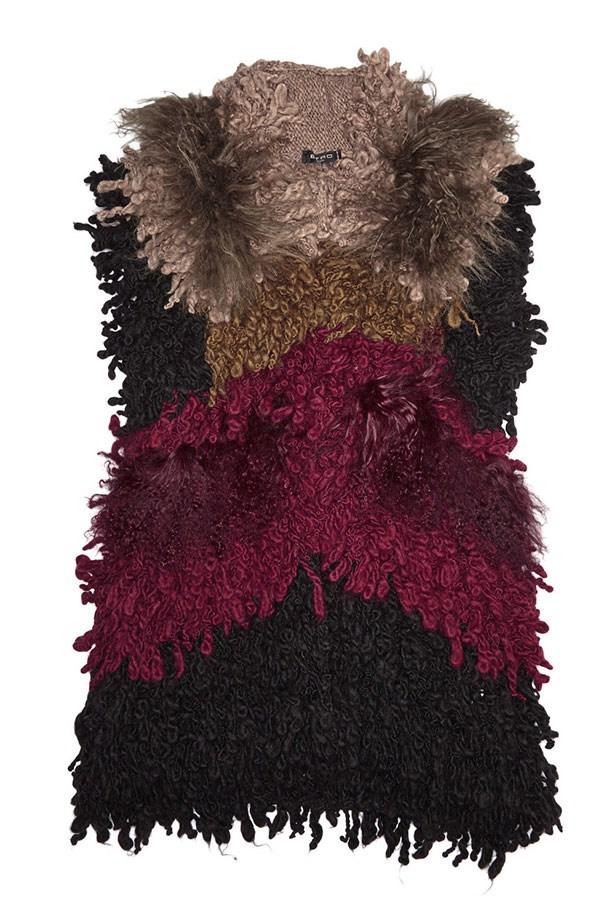 Vest, $1,370, Etro, net-a-porter.com
