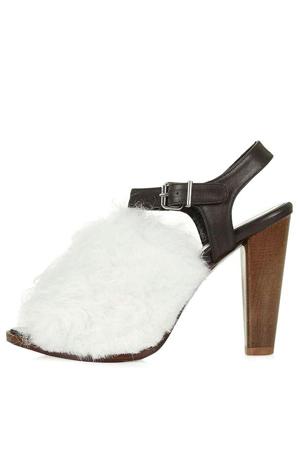 Sandal, $300, Topshop Unique, topshop.com