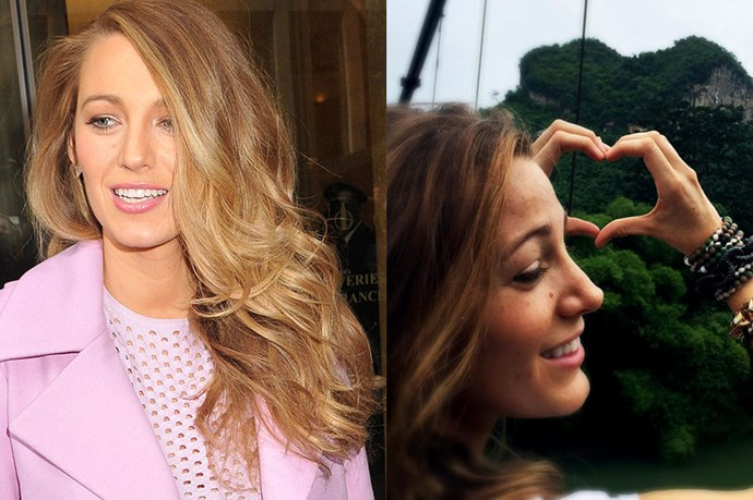 """<p> <strong>Blake Lively</strong></p> <p>Blake Lively has had a major 'do change, switching up her signature blonde locks for what she dubbed on her Instagram debut, """"bronde."""" So, ah, hairdressers should probably expect a whole lot of """"bronde"""" requests in the near future. </p>"""