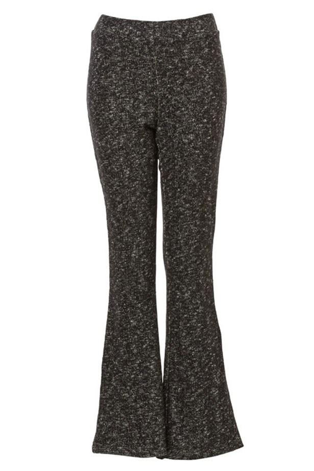 "Pants, $79.95, Sportsgirl, <a href=""http://www.sportsgirl.com.au/textured-flare-pant-mono"">sportsgirl.com.au</a>"