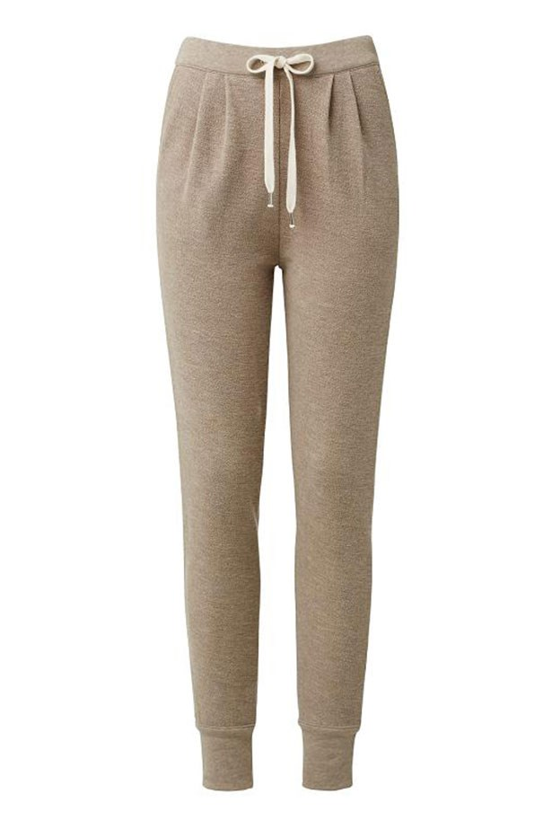 "Pants $89.95, Seed Heritage, <a href=""http://www.seedheritage.com/pants/knit-trackie/w1/i13016284_1001335/ "">seedheritage.com</a>"