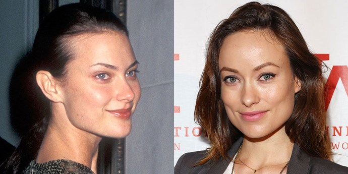 Shalom Harlow (1996) and Olivia Wilde