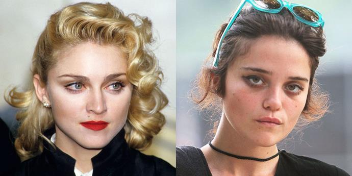 Madonna (1986) and Sky Ferreira