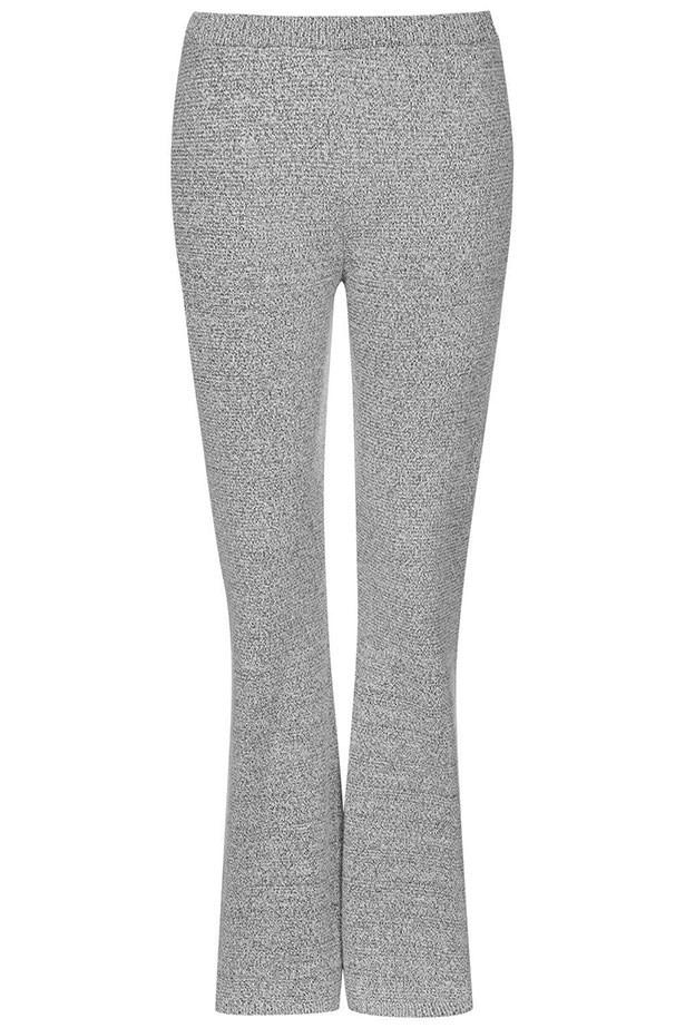 "Pants $74, Topshop, <a href=""http://www.topshop.com/en/tsuk/product/clothing-427/knitwear-444/salt-and-pepper-flared-trousers-3992095?bi=1&ps=20 "">topshop.com</a>"