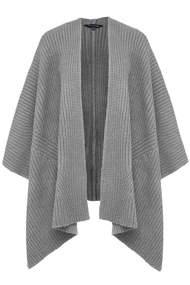 "Cape $99.95, French Connection, <a href=""http://www.frenchconnection.com.au/jackets-coats/oversized-cape/w2/i7984130_2410736/"">frenchconnection.com.au</a>"
