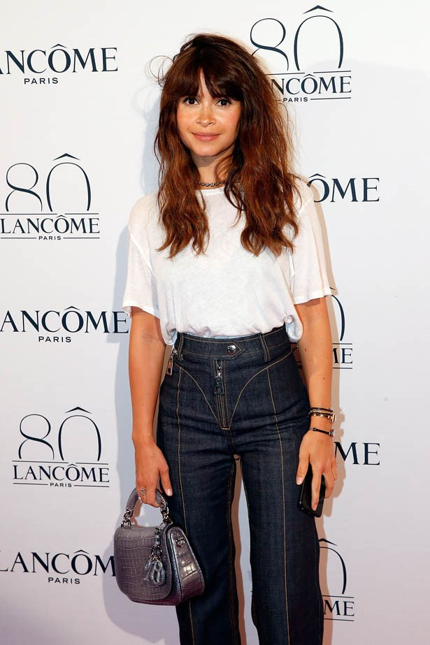 Miroslava Duma attends Lancôme's 80th anniversary in Paris.