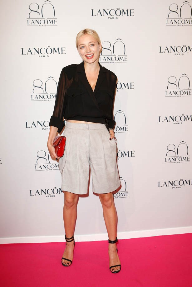Caroline Vreeland attends Lancôme's 80th anniversary in Paris.