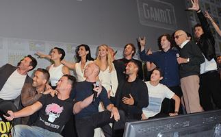 Channing Tatum surprise Comic Con appearance