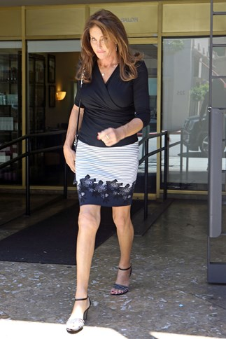 Caitlyn Jenner steps out for a lunch date with Kendall Jenner