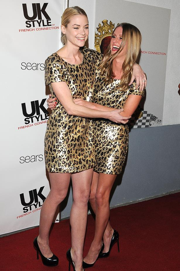 **Jaime King and Nicky Hilton** <br><br> Jaime King and Nicky Hilton didn't seem too fussed about their double up, laughing about the mishap while on the red carpet together.