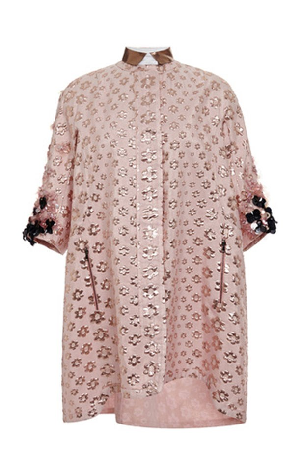 "Coat, $1,980, Giamba, <a href=""https://www.modaoperandi.com/giamba-ss15/coat-with-detailed-sleeves""></a>"