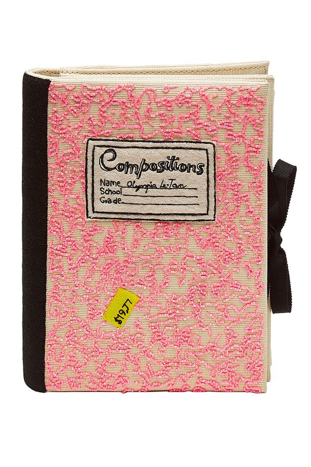 "Clutch, $1,280, Olympia Le Tan, <a href=""http://www.stylebop.com/au/product_details.php?id=610081""></a>"