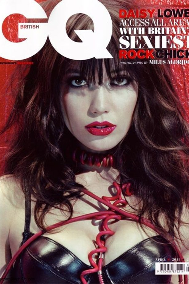Daisy Lowe, daughter of Gavin Rossdale and Pearl Lowe has faced off with a photographer more than once.