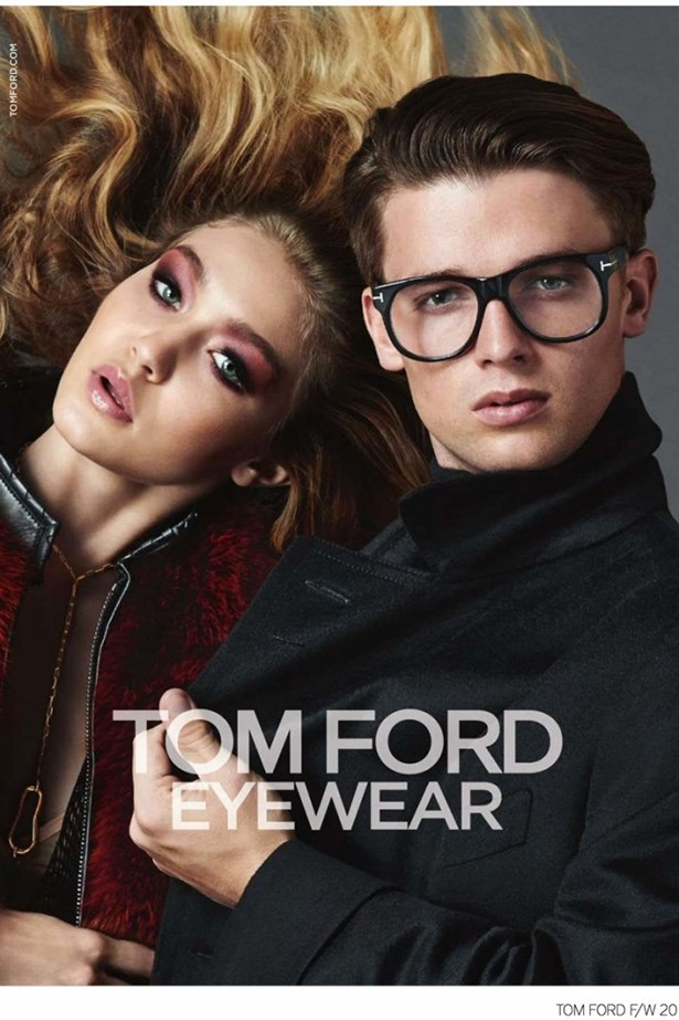 When he's not dating Miley Cyrus, Patrick Schwarzenegger can be found giving face in Tom Ford campaigns.