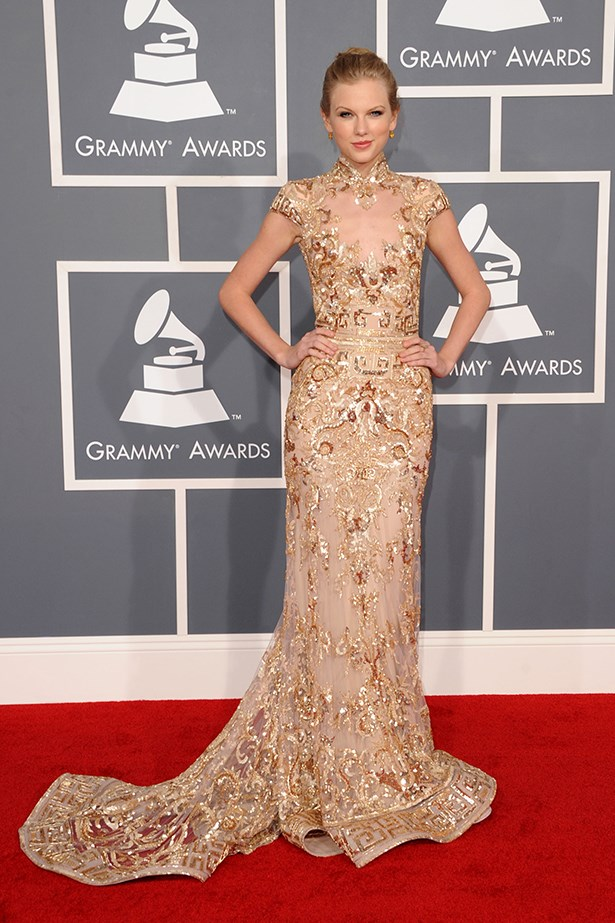 Taylor Swift In Zuhair Murad Couture – 2012 Grammy Awards