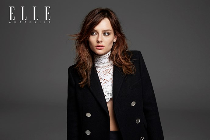 Brittany Beattie talks ELLE shoot