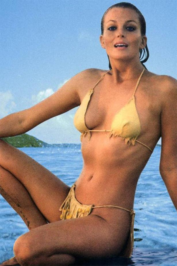 When Bo Derek wore this infamous (and tiny) gold bikini in *10*, people around the world descended into jealous rages. Including us. Especially us.