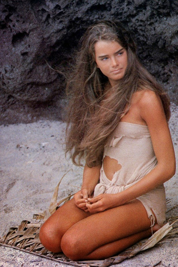 When we first saw Brooke Shields in Blue Lagoon, two questions went through our minds: is she old enough to be doing this (no), and where can we get that disintegrating dress (we couldn't)?