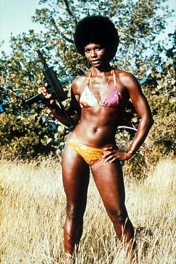 She was bad, she was sexy, and she could look good in a bikini with an assault weapon in her hand. Gloria Hendry in *Live and Let Die* was the ultimate bombshell.