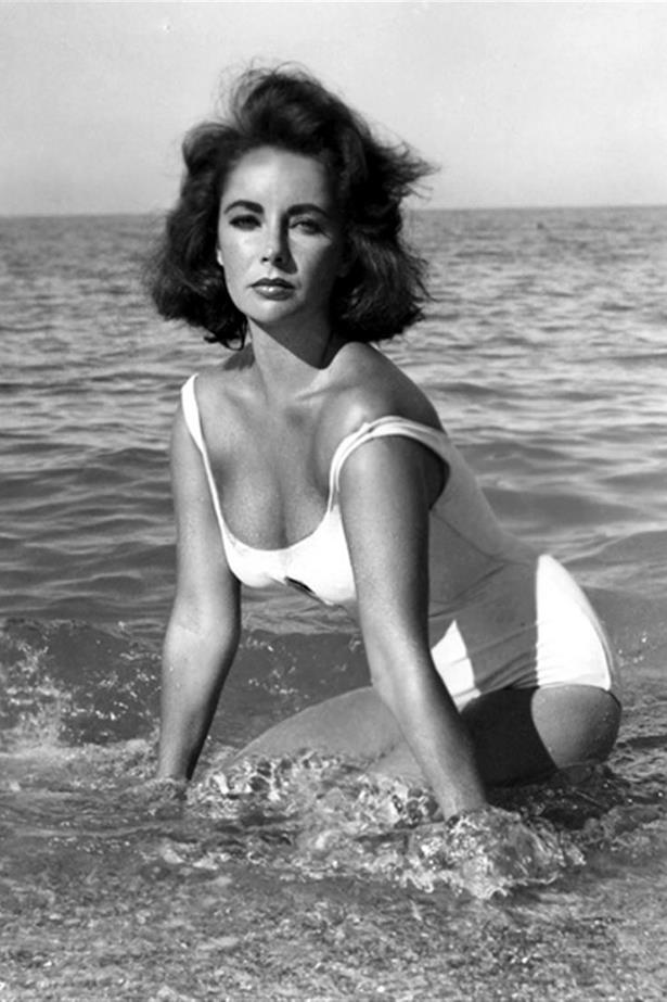 Elizabeth Taylor defined glamour in *Suddenly, Last Summer.*